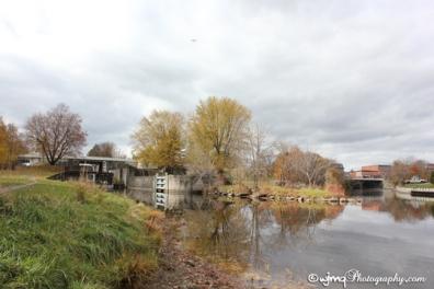 Rideau Locks, Smiths Falls, ON - November 2015 ©WandaQuinn